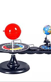 Sæt med tre glober Planetarium Videnskabs- og ingeniørlegetøj Pædagogisk legetøj Legetøj Kugle Maskine Professionelt niveau Plast 1 Stk.