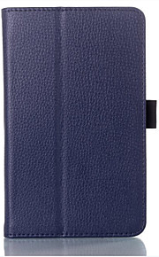Hülle Für Ganzkörper-Gehäuse Tablet-Hüllen Volltonfarbe Hart PU-Leder für