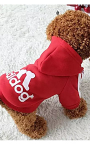 Fashon Blue Sports Style Dog Clothes for Pets Dogs  Pets Coats with Hoodies Soft Cotton Puppy Mascotas Clothes
