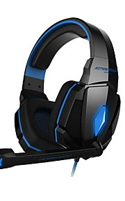 KOTION EACH G4000 オーバーイヤー / ヘアバンド ケーブル ヘッドホン プラスチック ゲーム イヤホン ノイズアイソレーション ヘッドセット