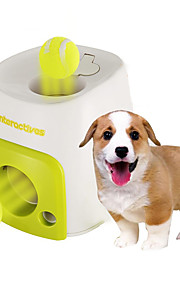 Hundelegetøj Kæledyrslegetøj Bold Interaktivt Madautomat Tennisbold Plastik