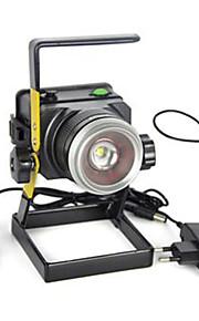 Lanternas e Luzes de Tenda LED 2000 lm 1 Modo Cree XM-L T6 Zoomable Super Leve Campismo / Escursão / Espeleologismo Uso Diário Caça