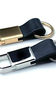mężczyźni i kobiety kluczyki brelok metalowy pierścień skóra