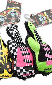 Kattelegetøj Hundelegetøj Kæledyrslegetøj Pibe-Legetøj Knirke Tekstil Multifarvet