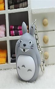 Totoro doprowadziły świetlny ozdoby głosowe kreskówki pierścień twórczego klucza