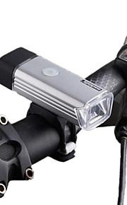 Luzes de Bicicleta LED LED Ciclismo Recarregável Impermeável Regulável Bateria de Lítium 70 LUX Lumens USB Branco Natural Campismo /