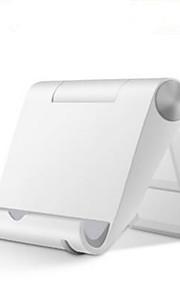 Mobilstativ Skrivbord / Säng Justerbart Stativ Plast for Mobiltelefon / Surfplatta