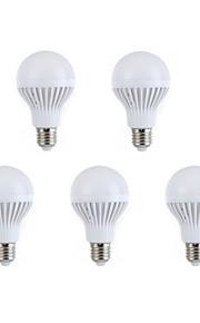 264-288 E26/E27 Круглые LED лампы A60(A19) 12 светодиоды SMD 5630 Декоративная Тёплый белый Естественный белый 2700-3200/6000K AC 220-240