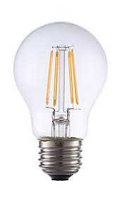 E26 LED-glødepærer A17 4 leds COB Mulighet for demping Varm hvit 350lm 2700K AC 110-130V
