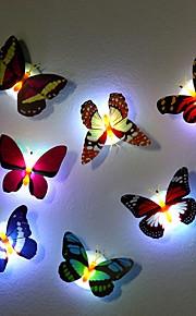 7 väriä vaihtava perhonen led-yölamppu korkea laatu