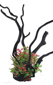 קישוט אקווריום צמחים מלאכותי שרף