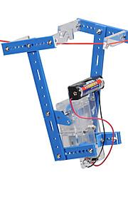 Crab Kingdom Technology Small Production of Small Inventions DIY Lanyard Climbing Robot 67 Handmade Material Bag