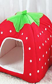 Gato Cachorro Camas Animais de Estimação Cestos Fruta Dobrável Macio Roxo Vermelho Azul Rosa claro Para animais de estimação