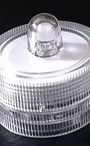Akvarier Akvariedekoration Hvid Ændring Energibesparende LED lampe Jævnstrøm 12V