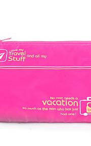 Bolsa de Viagem Organizador de Mala Prova-de-Água Organizadores para Viagem Multi funções para Roupas Tecido Náilon / Viagem Para a Casa