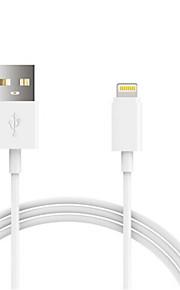 USB 2.0 Verlichting USB kabeladapter Oplaadkabel Oplaadkoord Data & Synchronisatie Koord Normaal Kabels Kabel Voor iPad Apple iPhone 100
