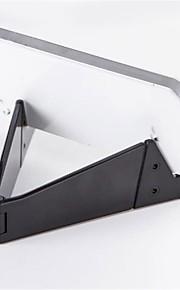 tablet stativ Plastik desk Table holder tablet Foldning Justerbar Fleksibel Bærbar Sort