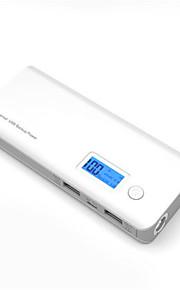 noodoplader externe batterij 5V 1.0A 2.1A #A Oplader Zaklamp Meerdere uitgangen Schokbestendig LED
