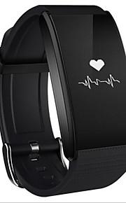 Умный браслет для iOS Пульсомер / Измерение кровяного давления / Израсходовано калорий / Длительное время ожидания / Сенсорный экран / Защита от влаги / Напоминание о звонке / Сидячий Напоминание