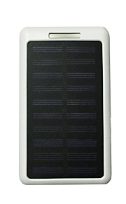 10LED 8000mAh 5V2A Power Bank with Solar Charge for Mobile Phone