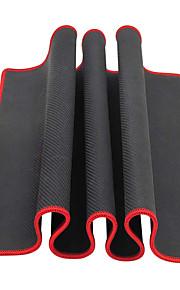 Große schwarze rote Kante feste Mausunterlage (30x80x0.2cm)