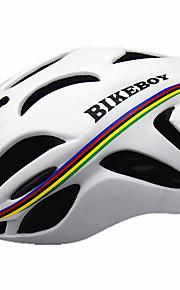 Erkek Unisex Bisiklet Kask 18 Delikler Bisiklet Dağ Bisikletçiliği Bisiklete biniciliği M: 55-58CM L: 58-61CM