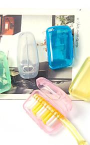 Fonoun Plastic Travel Toothbrush Container/Protector Travel Luggage Organizer / Packing Organizer Moistureproof/Moisture Permeability