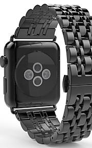Urrem for Apple Watch Series 3 / 2 / 1 Apple Sommerfugle Spænde Rustfrit stål Håndledsrem