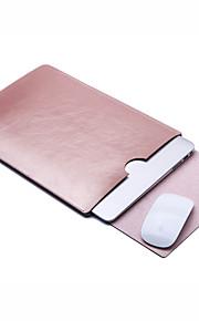 Manche Couleur Pleine faux cuir pour MacBook Pro 13 pouces / MacBook Air 13 pouces / MacBook Air 11 pouces