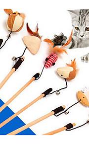 Gato Brinquedo Para Gato Brinquedos para Animais Interativo Brinquedo de Provocação Durável Tecido Para animais de estimação