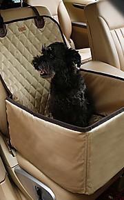 ネコ 犬 シートカバー ペット用 マット/パッド ソリッド 携帯用 折り畳み式 高通気性 両面 ランダムカラー ペット用