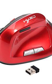 Ergonomische vertikale Maus Wireless 6d wiederaufladbare Maus Computer Mäuse 2.4ghz usb Gaming Mäuse optische 2400dpi für Laptop-PC