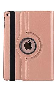 Custodia Per Apple Con supporto / Standby automatico / accendimento automatico / Rotazione a 360° Integrale Tinta unita Resistente pelle
