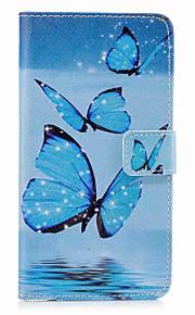 케이스 제품 iTouch 5/6 지갑 카드 홀더 스탠드 플립 패턴 전체 바디 케이스 PU 가죽 하드