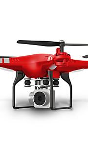 RC طيارة SHR / C HR SH5 10.2 CM 6 محور 2.4G مع كاميراHD 2.0MP 720P جهاز تحكم FPV / أضواء LED / زر واحد للعودة جهاز تحكم / كاميرا / بطارية
