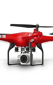 RC Ρομποτάκι SHR / C HR SH5 4 Kανάλια 6 άξονα 2,4 G Με κάμερα HD 2.0MP 720P Ελικόπτερο RC με τέσσερις έλικες FPV / Φώτα LED / Επιστροφή