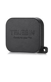 Tampão de proteção da tampa da lente telesin para gopro hero5