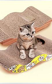 Brinquedo Para Gato Brinquedos para Animais Gatária Tapete de Arranhar Papel Para animais de estimação