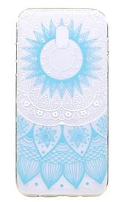 Custodia Per Samsung Galaxy J7 (2017) J3 (2017) Transparente Fantasia/disegno Custodia posteriore La stampa in pizzo Morbido TPU per J7