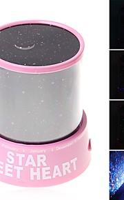 Luminária Noite Estrelada Iluminação de LED Luminária Projetora Brinquedos ABS Romântico 1 Peças Crianças Dom