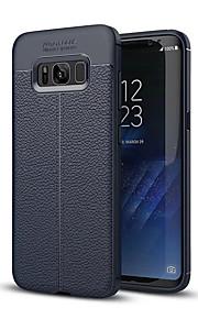 Custodia Per Samsung Galaxy S8 Plus S8 Resistente agli urti Custodia posteriore Tinta unica Morbido Silicone per S8 S8 Plus