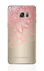 Custodia Per Samsung Galaxy S8 Plus S8 Transparente Fantasia/disegno Custodia posteriore Con cuori La stampa in pizzo Morbido TPU per S8