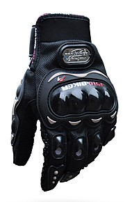 PRO-BIKER Full Finger Motorcycle Airsoftsports Riding Racing Tactical Gloves Auto Engine Protection Cycling Sport Gloves MCS-01C Black