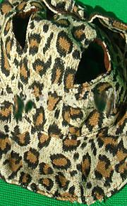 Hond Bandana's & Hoeden Hondenkleding Luipaard Geel Koffie Oxfordstof Kostuum Voor huisdieren Heren Dames Cowboy
