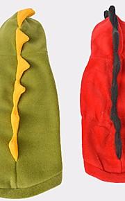 Hond kostuums Hondenkleding dier Rood Jager Groen Katoen Kostuum Voor huisdieren Casual / Dagelijks Cosplay