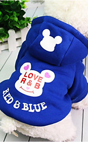 Hond Hoodies Hondenkleding Prinses Zwart Donkerblauw Fuchsia Katoen Kostuum Voor huisdieren Casual/Dagelijks