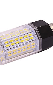 9w led corn lyser t 112 leds smd 5730 varm hvit kald hvit 850lm 2800-3500; 5000-6500k ac85-265v e27 / e14