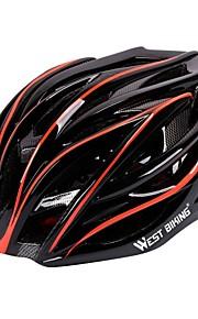 West biking Шлем Мотоциклетный шлем CE Велоспорт 27 Вентиляционные клапаны Прочный Легкий вес Велосипедный спорт Велоспорт
