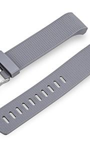 Bandas de substituição para carga de encaixe 2 Wepro Fitbit Charge 2 acessorios de bandas com fivela metálica cinza
