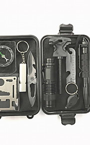 Economic Plastics Multitools Camping / Hiking Camping/Hiking/Caving Outdoor Easy to Use SOS First Aid Kit 1SET